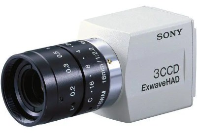 Sony DXCC33P 3-CCD Color Video Camera, PAL
