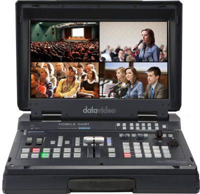 Datavideo HS-1500T HD/SD 4-Channel HDBaseT Portable Video Studio
