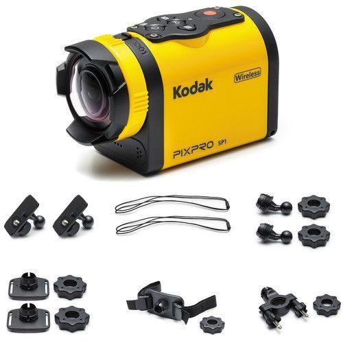 Kodak Pixpro SP1 Action Camera Explorer Pack