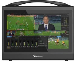 LiveStream Studio HD550 4K Compact and portable all-in-one live production switcher