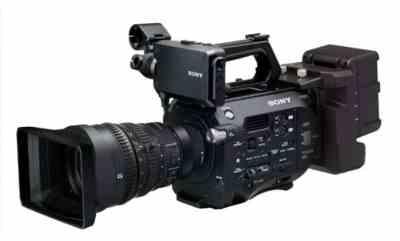 Sony PXW-FS7 4K Super 35mm Exmor CMOS sensor XDCAM