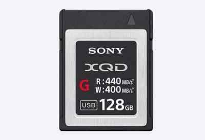 Sony QD-G128E 128GB XQD G Series Memory Card