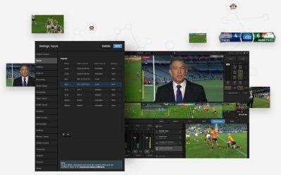 LiveStream Studio Software 4.6 Live Production Switcher Software