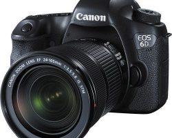 Canon EOS 6D DSLR STM Lens