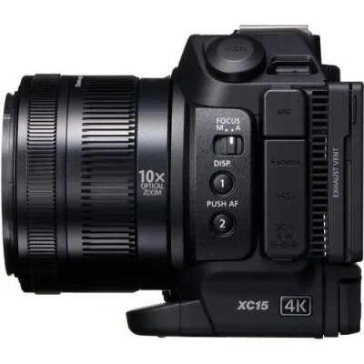 Canon XC15 4K Camcorder