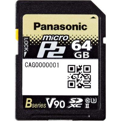 Panasonic AJ-P2M064BG microP2 card B Series