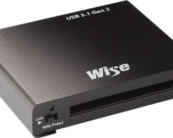 Wise CFast™ Card Reader - USB 3.1 Gen2