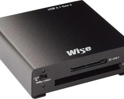 Wise CSD2 Combo Card Reader - USB 3.1 Gen2