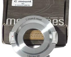 Metabones C-mount to E-mount/NEX