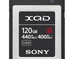 Sony QD-G120F SYM XQD G Series Memory Card