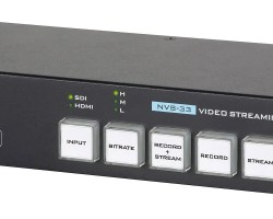 NVS-33 H.264 Video Streaming Encoder and MP4 Recorder