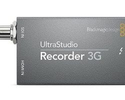 Blackmagic Ultrastudio Recorder 3G