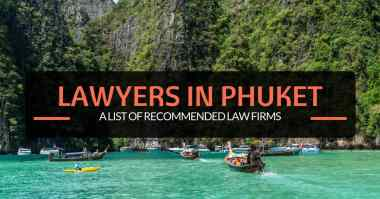 a list of recommended law firms in phuket