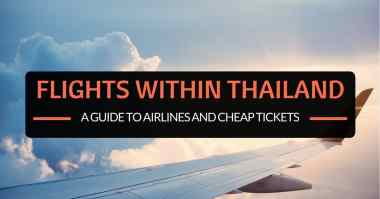 Flight within Thailand