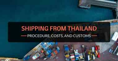 shipping from thailand