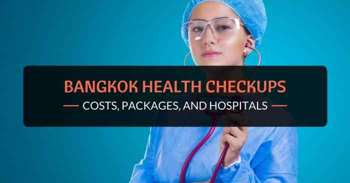 bangkok health checkups