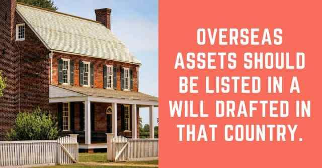 overseas assets