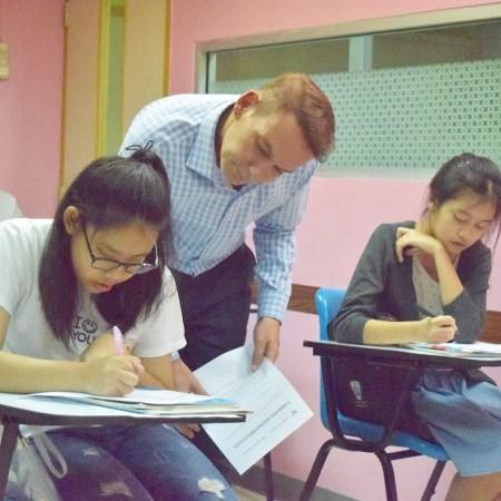 TEFL Trainee teaching young learners
