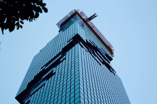 mahanakhon building in silom