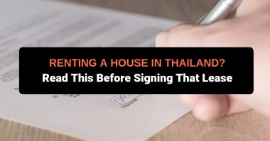 renting house thailand