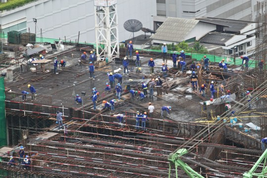 air pollution bangkok construction