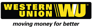 The Western Union logo.
