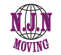 The NJN Moving logo with a globe and the text, NJN Moving.