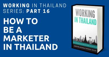 working in thailand marketer