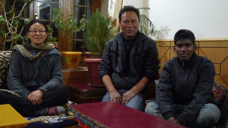 The Shaolin Guest House family.