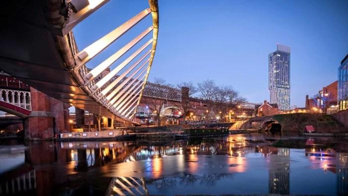 Manchester waterside