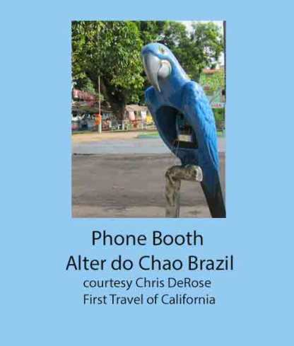 Phone Booth, Alter de Chao, Brazil