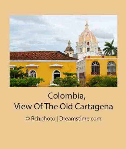 Columbia, View of the Old Cartagena