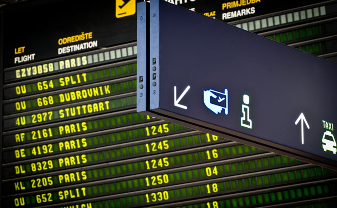 How To Get To And From Zagreb Airport Expat In Croatia