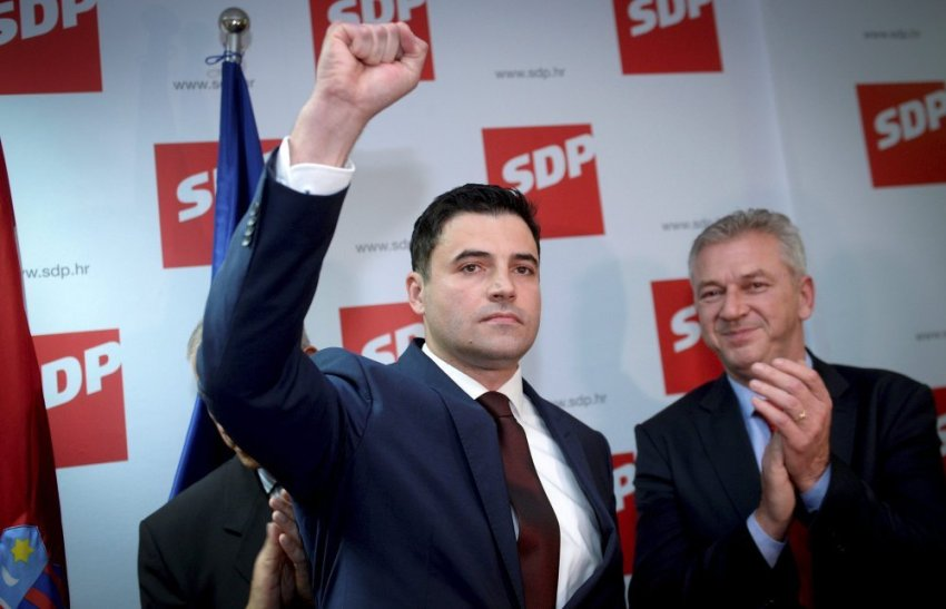 Davor Bernardić, president of Croatia's SDP political party