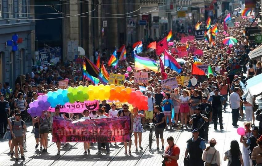Zagreb Pride Parade March