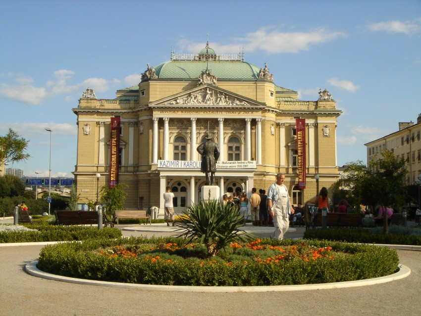 Ivan pl Zajc National Theater in Rijeka