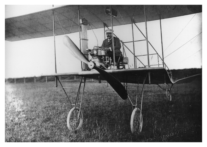 First Croatian airplane built by Penkala
