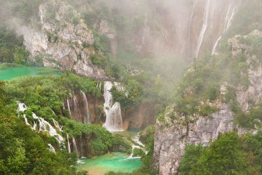 Plitvice National Park waterfalls