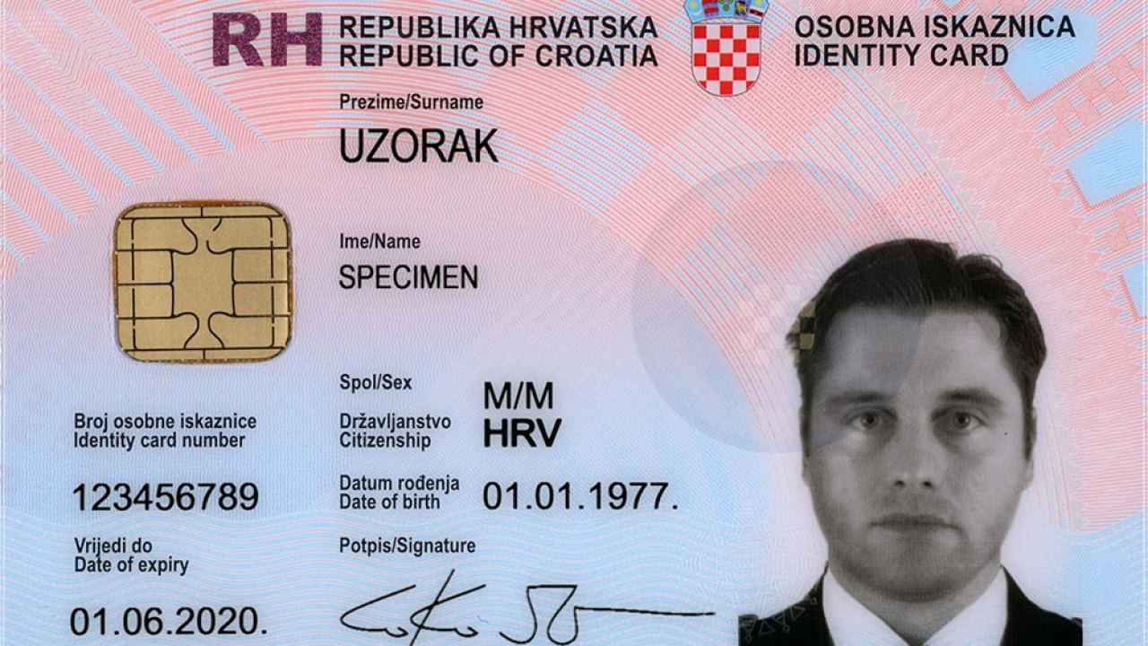 How to apply for a national ID card (osobna iskaznica