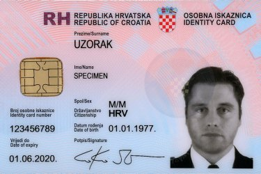 How to apply for a national ID card (osobna iskaznica)