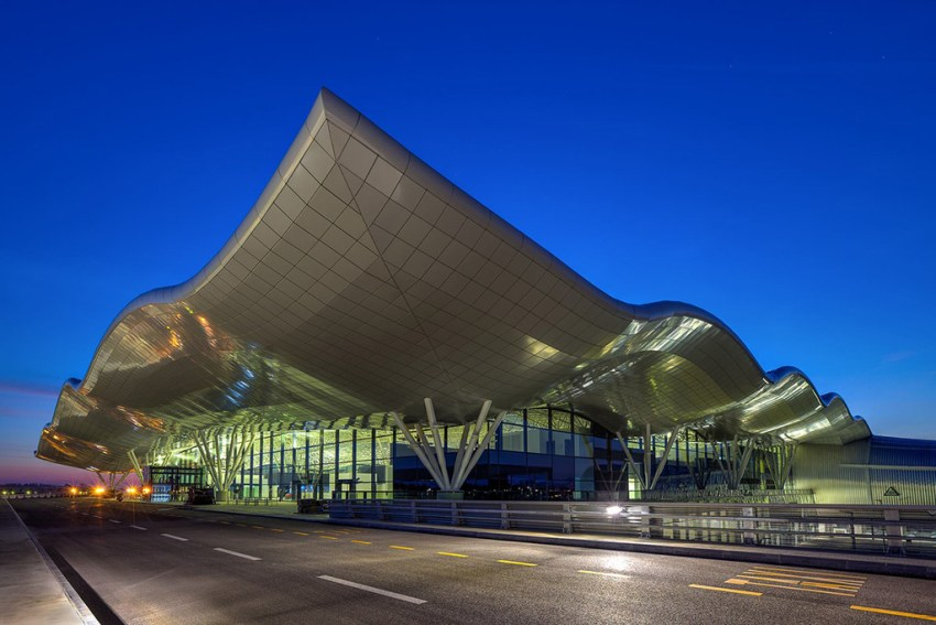 Zagreb airport in Croatia