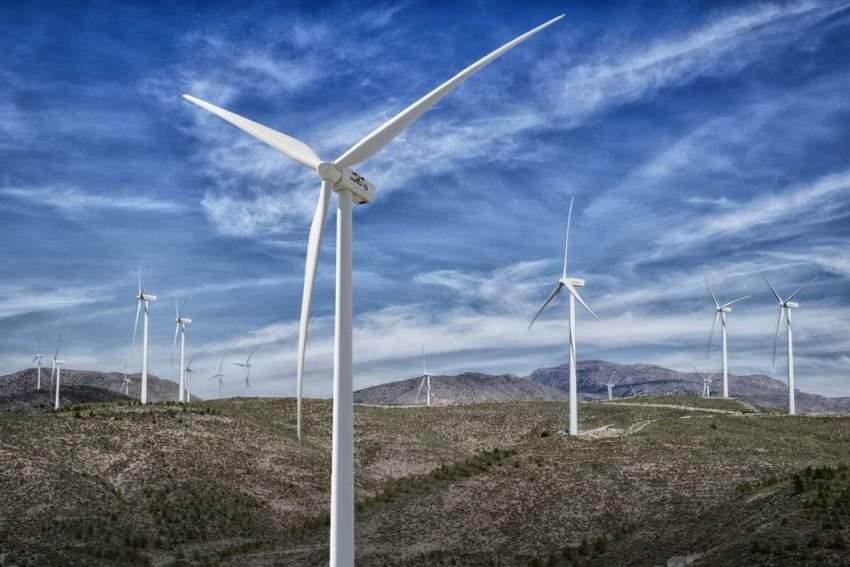 Wind farm in Croatia