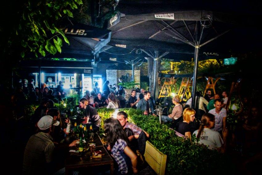 The Beertija bar in Zagreb
