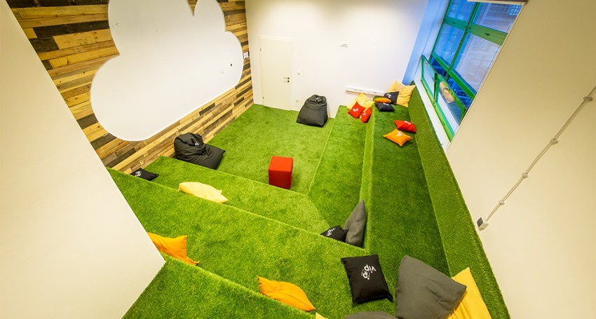 HUB385 coworking space for digital nomads in Zagreb, Croatia