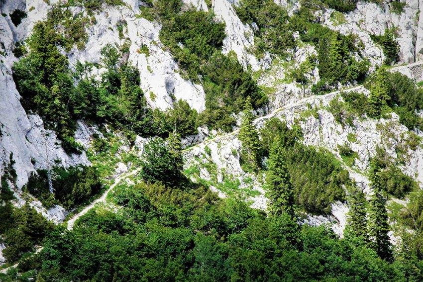 Premužićeva staza - Trail on Velebit in Croatia