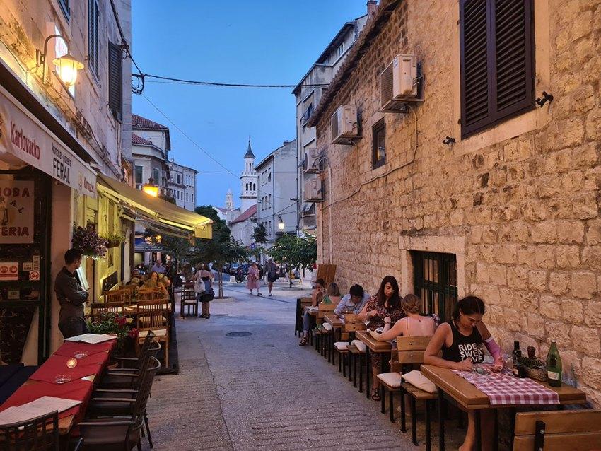 Konoba Marjan restaurant in Split, Croatia