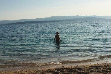 Signs that summer has arrived on island Brač