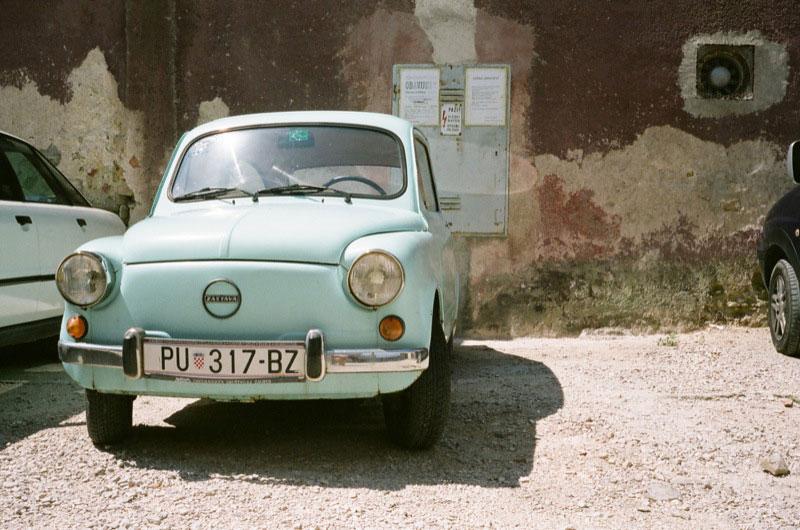Car in Pula, Croatia