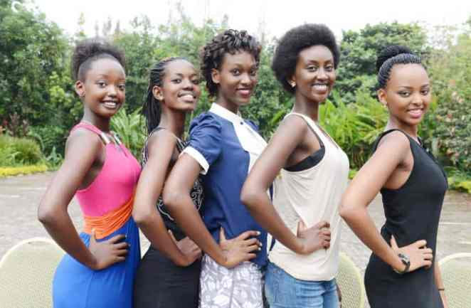Beautiful Rwanda Girls