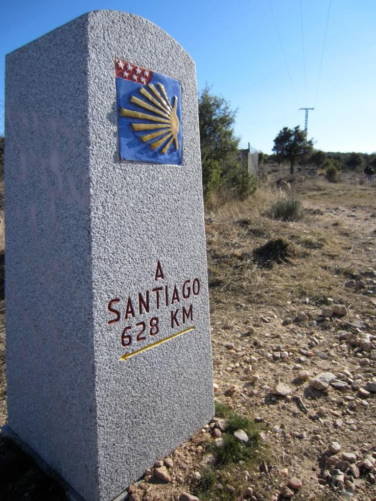 camino de santiago manzanares el real madrid spain